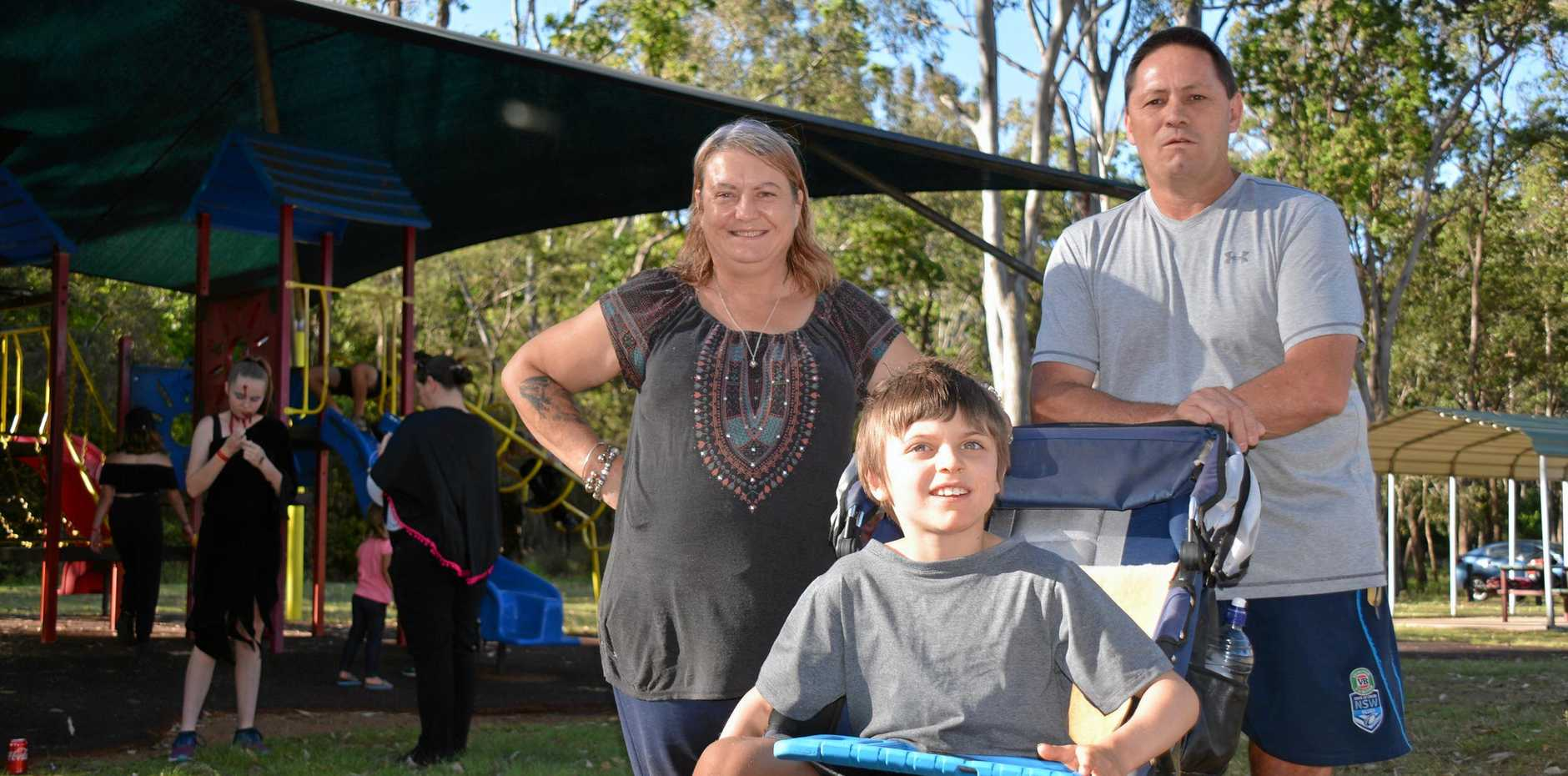 HELP MY SON: Cheryl Warner is concerned about the safety of her disabled son and is pleading to the NDIS for funding.