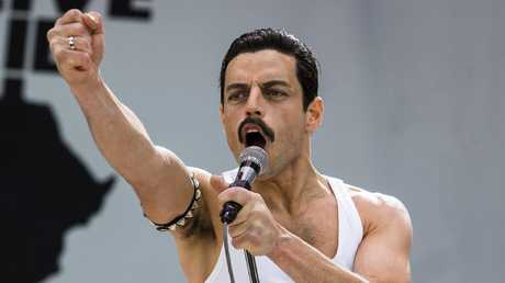 Rami Malek nailed it as Freddie Mercury. Picture: Alex Bailey/Twentieth Century Fox via AP