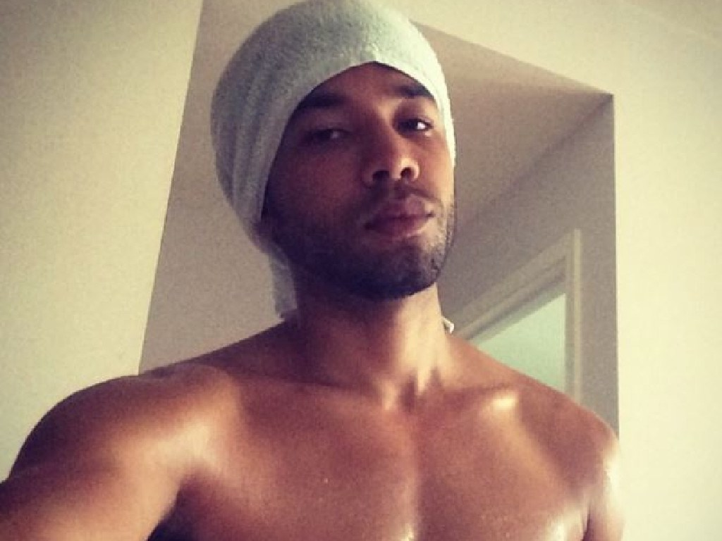 Empire star Jussie Smollett is in hot water over a staged attack. Picture: Instagram