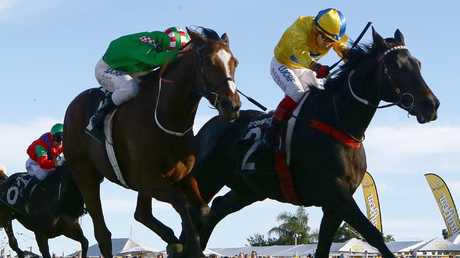 The Ipswich racetrack has come under fire again after Friday's meeting was postponed. Picture: AAP