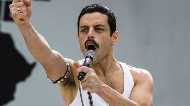 Rami Malex as Freddie Mercury. Picture: Alex Bailey/Twentieth Century Fox via AP