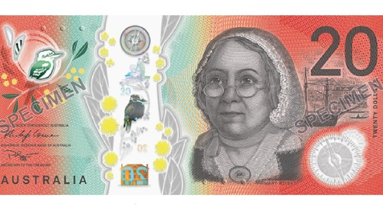 The RBA has revealed the new-look $20 note. Picture: RBA