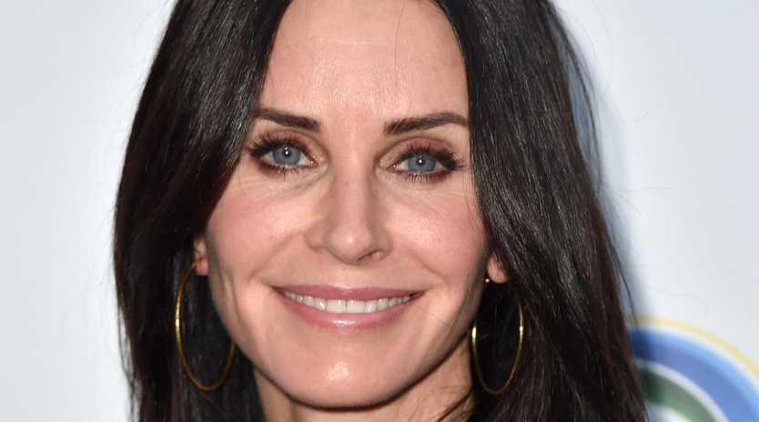 Courteney Cox has opened up about her recent flight scare. Picture: Frazer Harrison/Getty Images