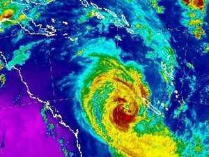 Cyclone Oma to hang off the coastline