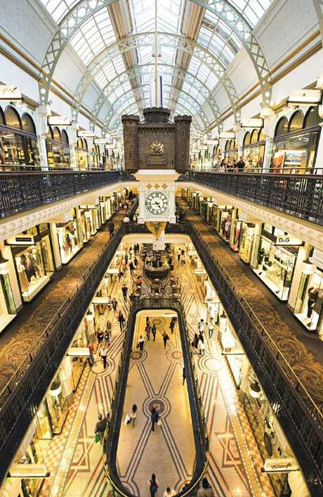 The woman visited several CBD locations including the Queen Victoria Building.