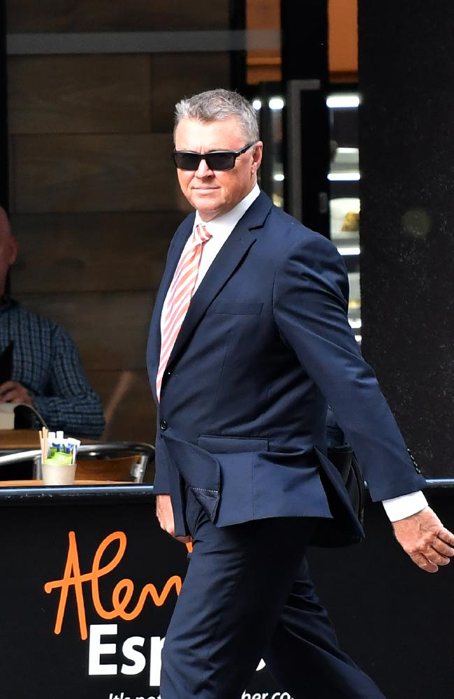 Former CFMMEU boss Dave Hanna is a convicted rapist. Picture: AAP Image/Darren England