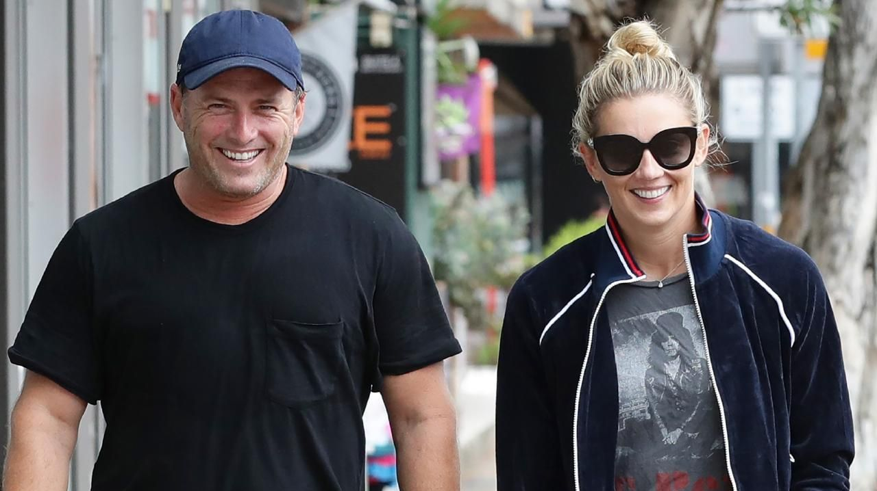 Newlyweds Karl Stefanovic and Jasmine Yarbrough: still in the honeymoon phase? Picture: Matrix