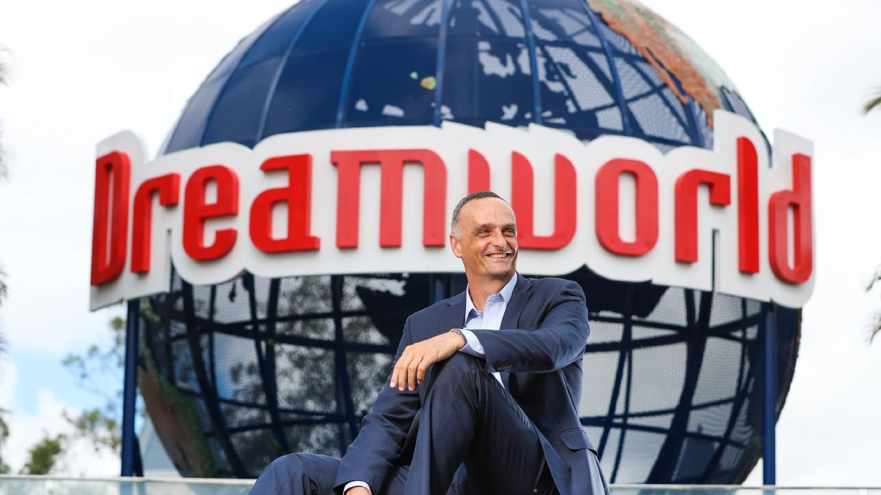 New Dreamworld CEO John Osborne. Picture: NIGEL HALLETT