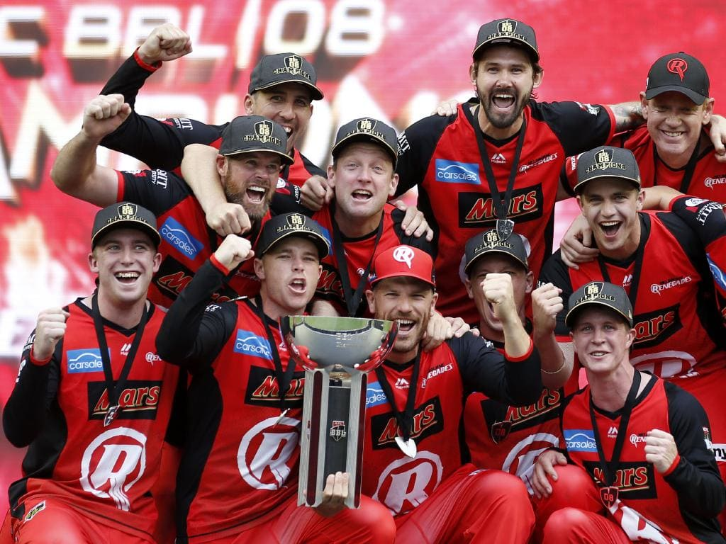 The Melbourne Renegades finished top of the pile in the BBL|08. Picture: Getty Images