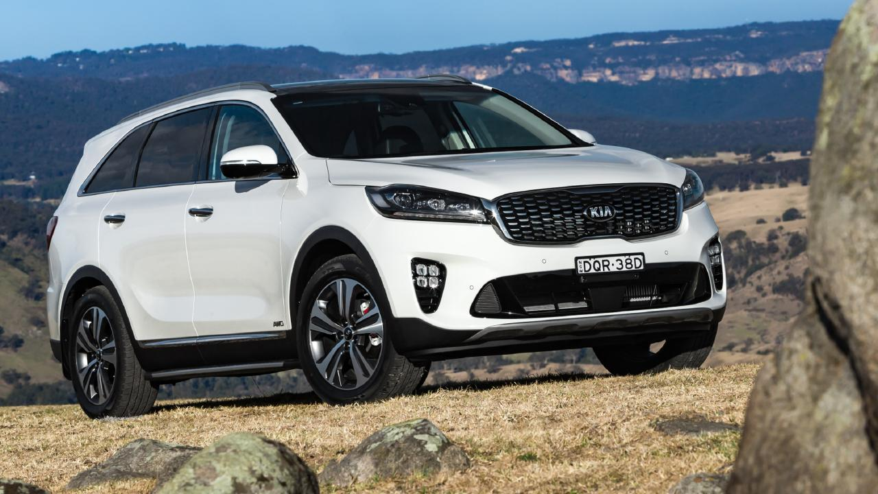 Sorento: Seven seats, petrol or diesel, front or all-wheel drive