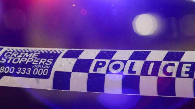 POLICE have charged a man after a stolen vehicle collided with a police car early this morning.