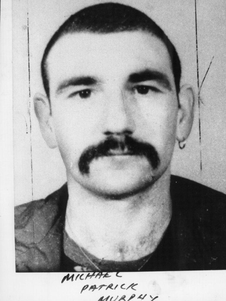 'Mick' Murphy in an earlier mug shot.