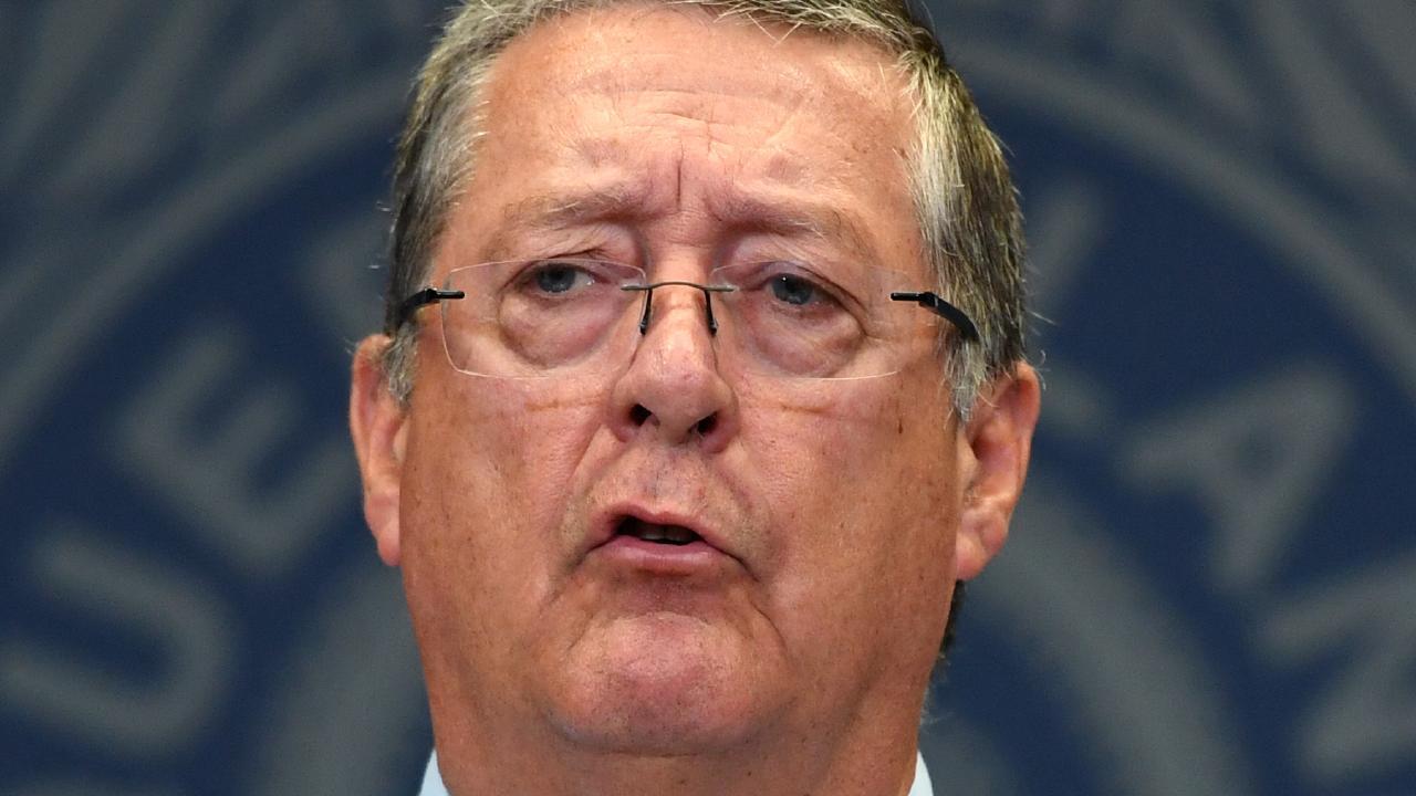 Queensland Police Commissioner Ian Stewart. Picture: AAP/Dan Peled