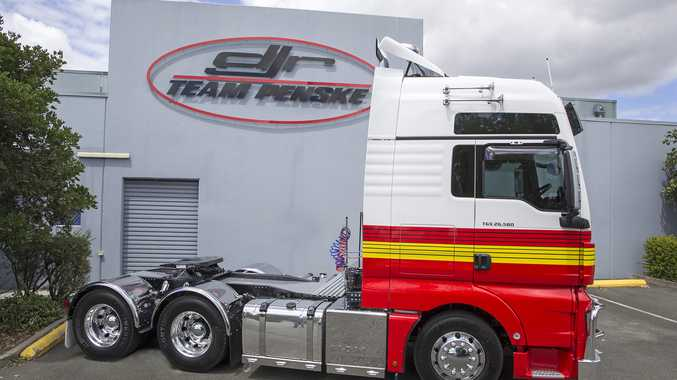 This truck will transport supercars