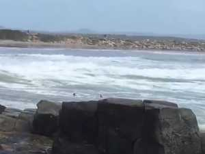 Swimmer Rescue at Yamba