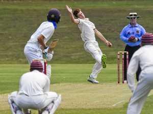 IGS Firsts v Nudgee cricket match. Ipswich's Mitch