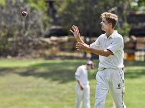 IGS Firsts v Nudgee cricket match. Ipswich's Sean