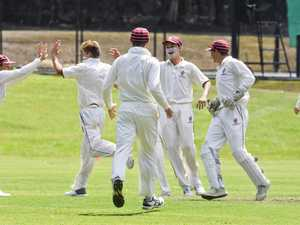 IGS Firsts v Nudgee cricket match. Ipswich