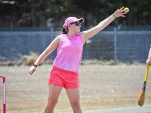 Ipswich Vigoro Pink Stumps Day. Breast Friends v