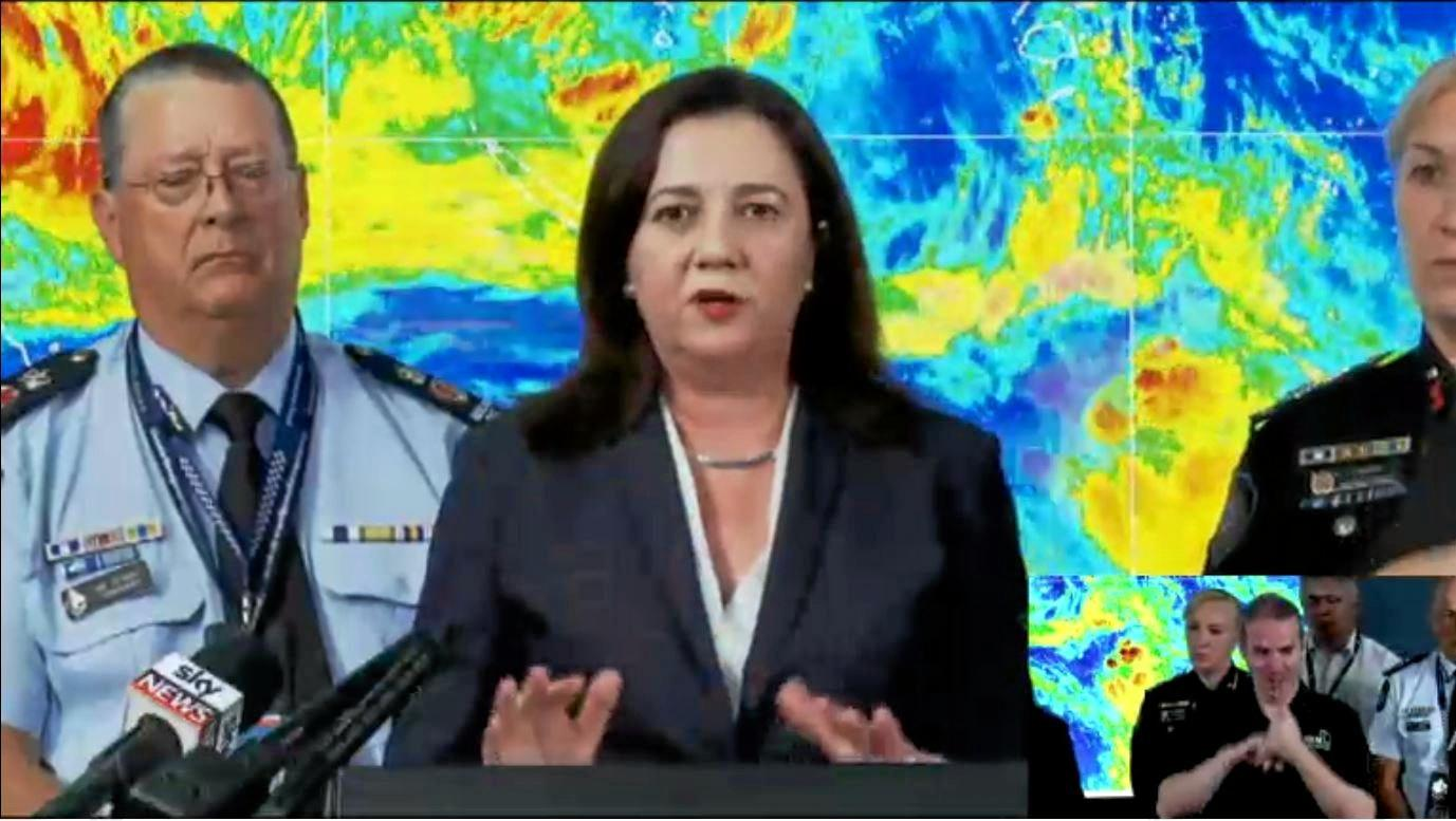 SUMMER OF DISASTERS: Premier Annastacia Palaszczuk has addressed the media throughout the summer on weather disasters she attributes to the impact of climate change.