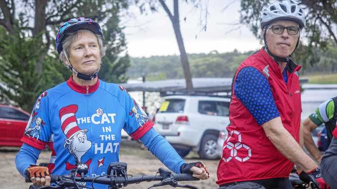 RIDING GROUP: That Dam Ride takes participants on a scenic route through Stanthorpe while also aiming to raise funds for groups and charities in the area.
