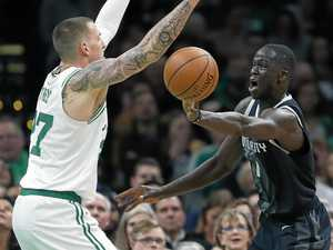 NBA wrap: Thon Maker's three-pointer secures Detroit victory