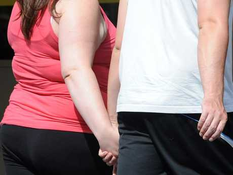 Obesity — this is an example of a real problem facing Australians today. Picture: Joe Castro/AAP