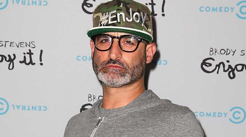 Brody Stevens. Picture: Joe Scarnici/Getty Images for Comedy Central