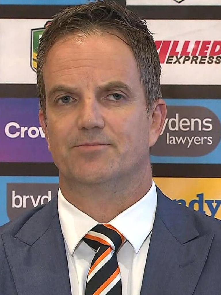 Wests Tigers CEO Justin Pascoe.