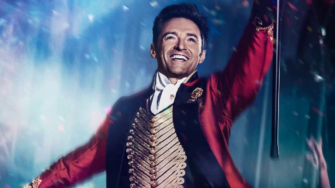 Hugh Jackman played P.T. Barnum in The Greatest Showman.