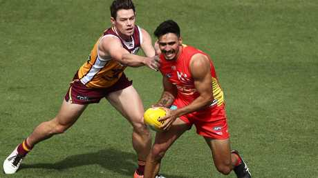Izak Rankine impressed for the Suns. Picture: Getty Images