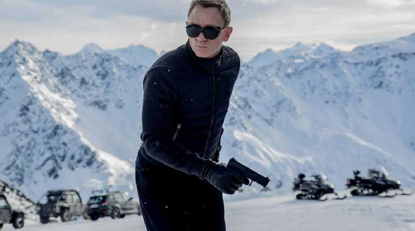 Daniel Craig as James Bond in the 24th film, Spectre.