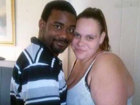 Melissa Castillo DeLoatch and her husband Shawn. Picture: Facebook