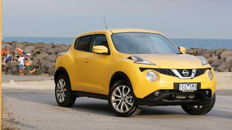 The Nissan Juke's jack is hard to find but it is there. Picture: Supplied