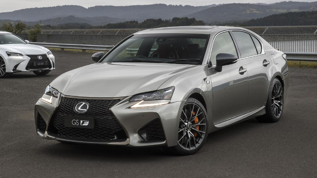 The Lexus GS F has an increasingly rare naturally-aspirated V8.