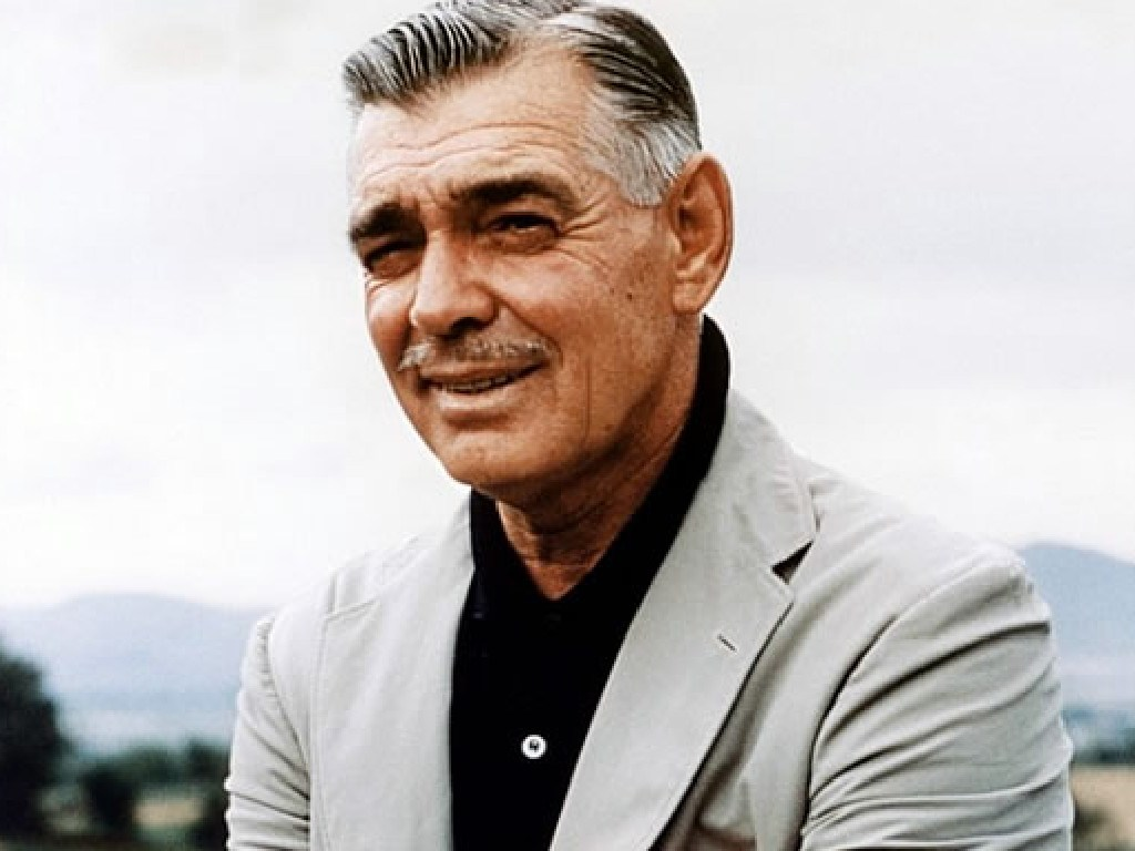 The 'King of Hollywood' Clark Gable died in 1960.