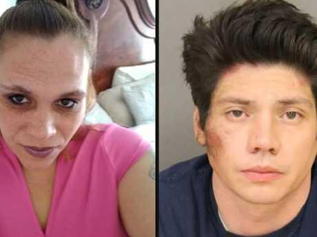 Melissa Castillo DeLoatch (left) and Jason Mendez. Picture: Supplied