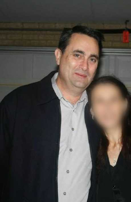 Accused Claremont serial killer Bradley Edwards with his former partner.