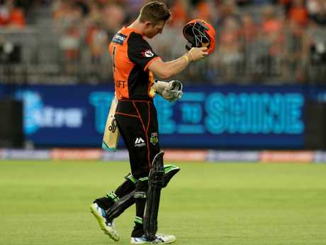Cameron Bancroft's Shield return went much better than his Big Bash campaign. Picture: AAP