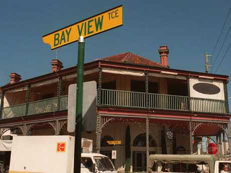 The Continental Hotel in Bay View Terrace, Claremont in Perth, where Ciara Glennon was drinking with friends before she vanished.