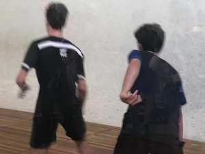 Nick Briggs squash tournament