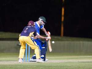 Jacob Littleproud bats for University. TCI T20 final