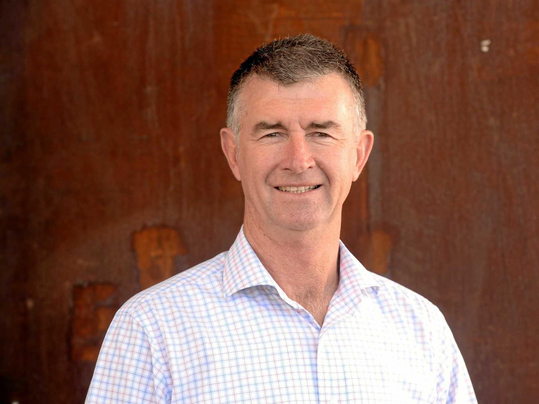 Deputy Opposition Leader Tim Mander visited Proserpine last week.