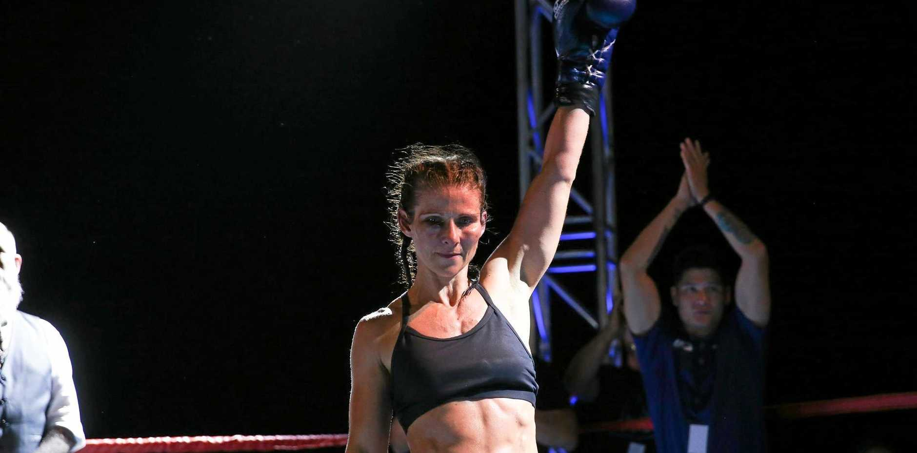 Simone Offord was the winner of the women's Rocky Rumble Pt 1 title.