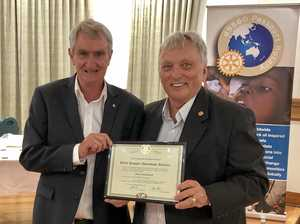 Southern hemisphere's first passport rotary club chartered