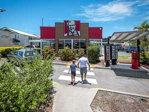 Police become violent mum's victims in KFC triple zero call