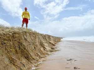 Strong winds, huge swell wreaks havoc on coastline