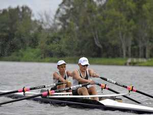 GOLDEN CHANCE: School rowers take the oars for State titles