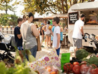 The markets are a space for local growers, artists and creators to showcase their produces and creations.