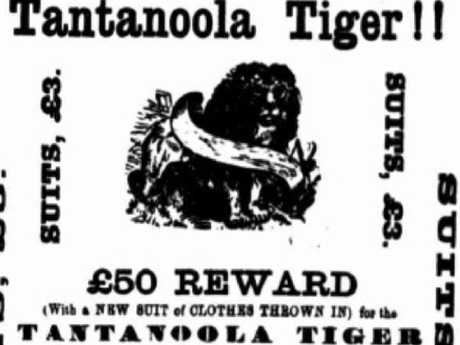 The reward for killing the tiger.